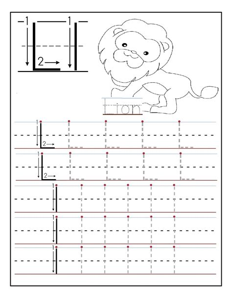 traceable letters worksheets activity shelter