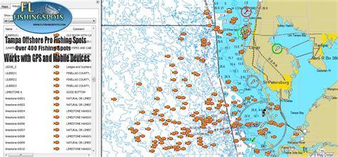 ta florida offshore fishing map florida fishing maps