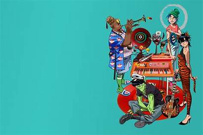 Gorillaz Song Desktop Machine Res Wallpapers Backgrounds
