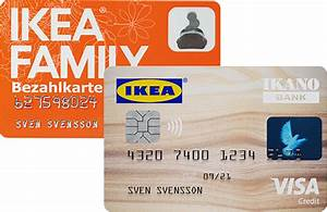 Ikea Karte Deutschland : deine ikea family bezahlkarte ikano bank ~ Markanthonyermac.com Haus und Dekorationen