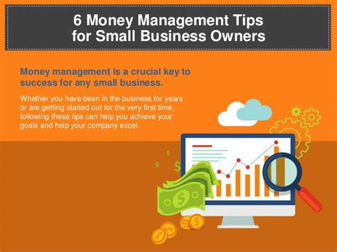 Top 6 Money Management Tips For Small Business Owners