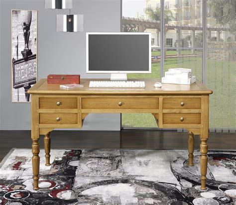 repeindre un bureau en bois bureau ministre léo en chêne massif de style louis