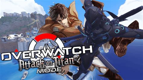 Playing Attack On Titan In Overwatch Aot Custom Game