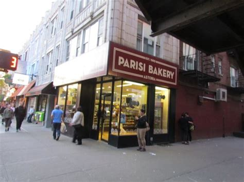 These are some of things that inspire us, taste good. Outside of Parisi Bakery - Picture of Parisi Brothers Bakery, Long Island City - Tripadvisor