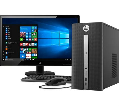 Best Hp Monitor Hp 570 A111na Desktop Pc With Hd 21 5 Quot Led Monitor