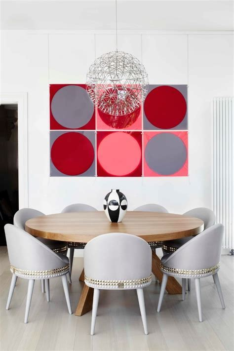 melbourne round foyer table dining room contemporary with