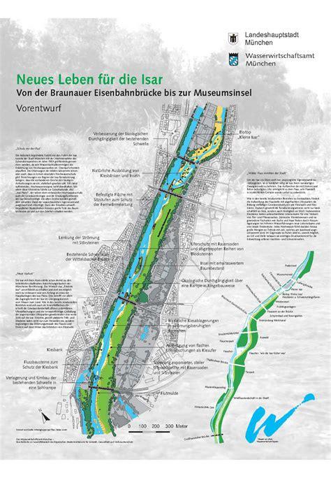 Englischer Garten Landau by Der Isar Plan Wasserwirtschaftsamt M Nchen