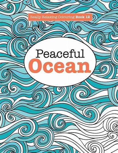Really Colouring Ocean Relaxing Peaceful Artanime Arte