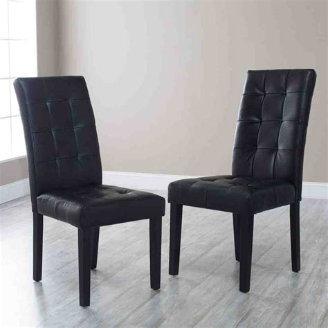 black tufted dining chairs home furniture design