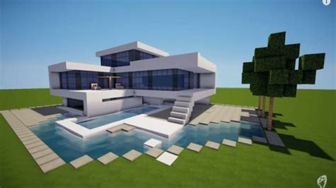 garage insulation ideas modern minecraft mansion minecraft modern house modern
