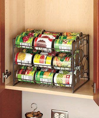 Food Pantry Rack by Details About Can Rack Pantry Organizer Kitchen Cabinet