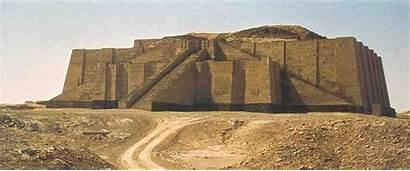 Ziggurat Architecture Mesopotamia Ur Sumerian Temples Iraq