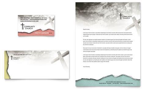 church letterhead templates word publisher
