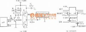 S    R   Set    Reset   Pulse Generator Circuit   Integrated