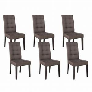 Table Chaise Salle A Manger : chaises de salle a manger taupe ~ Teatrodelosmanantiales.com Idées de Décoration