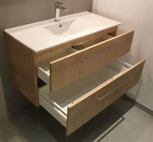 un meuble de 1 m 232 tre vasque c 233 ramique et ch 234 ne arlington atlantic bain