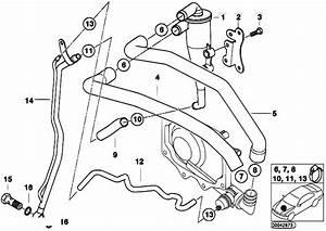 Original Parts For E53 X5 4 6is M62 Sav    Engine   Crankcase Ventilation Oil Separator