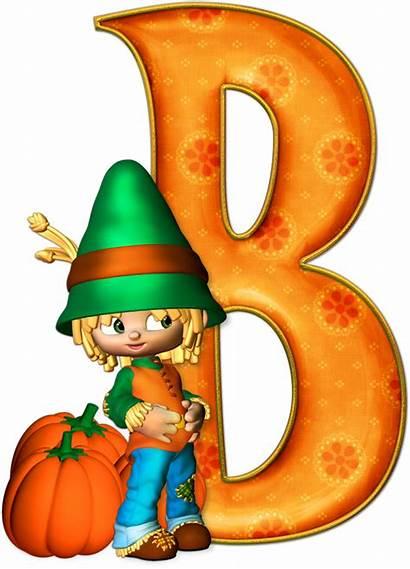 Letters Alphabet Letras Halloween Gratis Marcos Calabazas