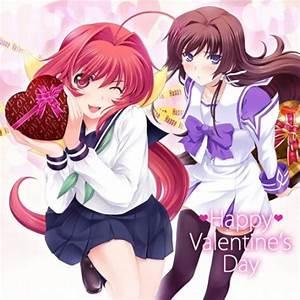 Various anime series celebrate Valentine's Day - SGCafe