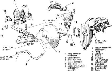 Wiring Diagram For Brake Booster by Ford 2 0 Dohc Engine Exploded View Wiring Diagrams And