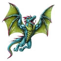 Flying Dragon Tattoo Designs
