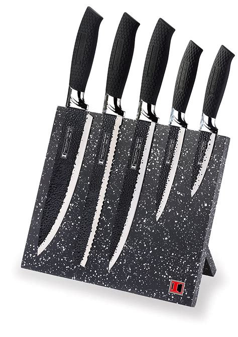 knife magnetic imperial stainless steel block cuchillos kitchen bloc juego knives grip global kitchenware ne professional negros piezas acero inoxidable
