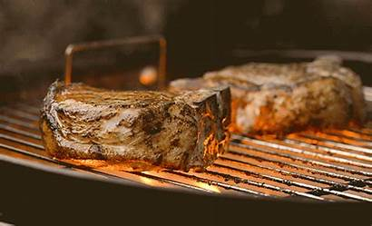 Pork Chops Grill Bbq Grilling Licking Grilled