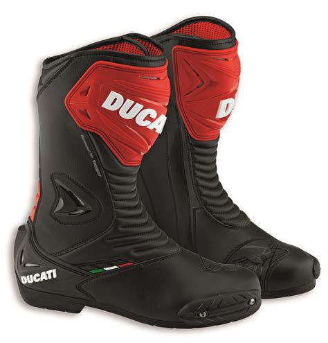 motorcycle boots 2016 ducati tcx racing sport 2 motorcycle boots black red 2016