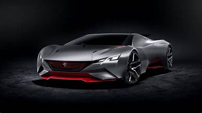 Neon 4k Turismo Peugeot Vision Gran Wallpapers