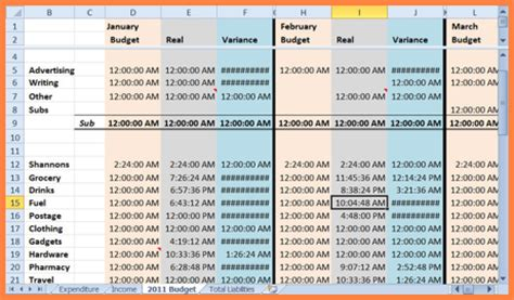 small business spreadsheet excel spreadsheets group