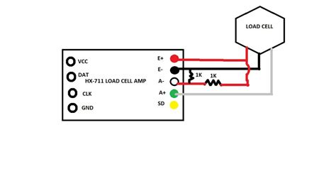 load cell with 3 wires