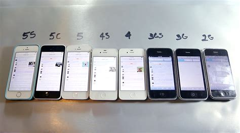 what iphone model do i every iphone model compared in speed test