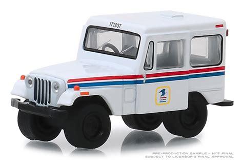 greenlight diecast united states postal service  jeep dj