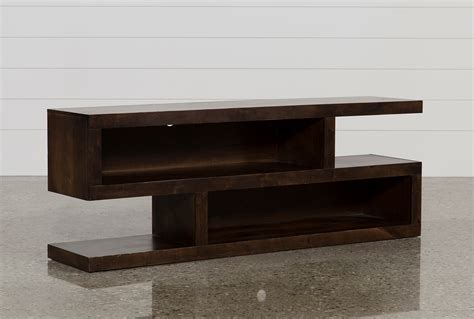 walton 74 inch open tv stand living spaces