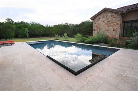 perimeter overflow pool austin by design ecology