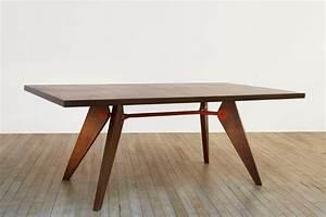 Table Jean Prouvé : jean prouv et la scal issoire 1939 galerie downtown ~ Melissatoandfro.com Idées de Décoration