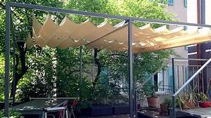 Pergola Mit Sonnensegel : elegante beschattung der pergola mit dem raffsegel sitrag sonnensegel ~ Avissmed.com Haus und Dekorationen