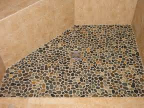 pebble shower floors for tiled showers how to install small rocks tile your