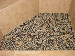 7 unique shower designs room bath for How to install stone tile flooring