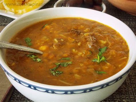 recette de cuisine facile et rapide dessert soupe harira marocaine harira fassia le cuisine de