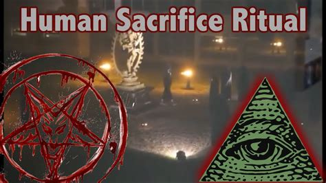 Illuminati Ritual by Satanic Illuminati Human Sacrifice Ritual Filmed At Cern