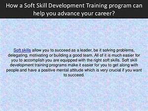 How a Soft Skill Development Training program can help you ...