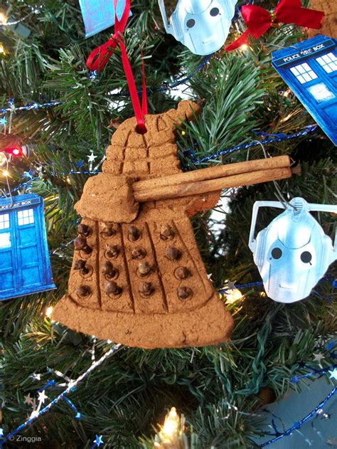 zinggia scented doctor who ornaments zinggia