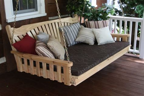 how to build a porch swing bed 8 comfy porch swing bed designs perfectporchswing