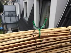 Balkon Brunnen Selber Bauen : balkon sichtschutz aus bambus selber bauen anleitung mit video ~ Frokenaadalensverden.com Haus und Dekorationen