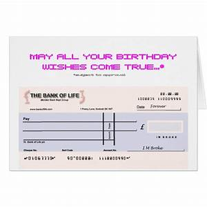 maltese birthday cards invitations zazzlecouk With birthday cheque template