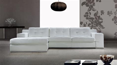 canapé d angle cuir gris salon moderne cuir