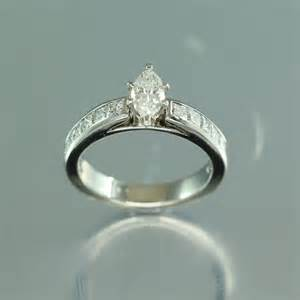 marquise engagement rings 14k gold marquise ring hindged