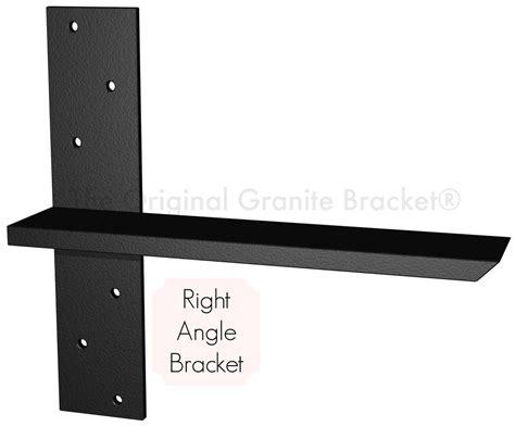 free hanging shelf bracket the original granite bracket