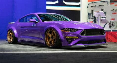 So, you keep dreaming of the future. Purple 2019 Ford Mustang Will Give You SEMA Street Cred ...